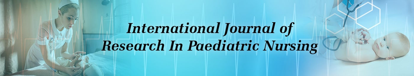 International Journal of Research in Paediatric Nursing