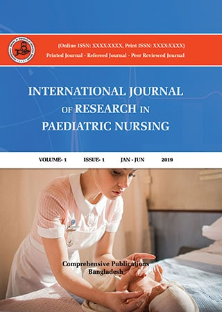 Paediatric Nursing Cover Page
